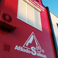 Rotulación de fachada de Afilados Salinas
