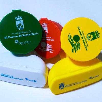 Ceniceros de playa personalizados para Recolte