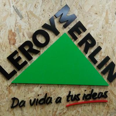Rotulación oficinas Leroy Merlín