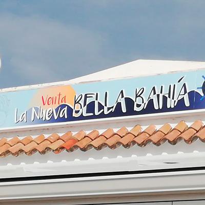 Rótulo Venta Bella Bahía