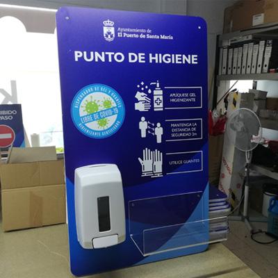 Dispensadores higiénicos COVID-19 para el Ayuntamiento de El Puerto de Santa María