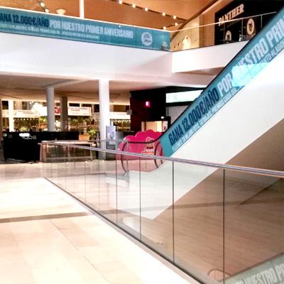 Rotulación primer aniversario Centro Comercial Lagoh
